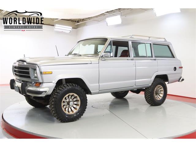 1986 Jeep Grand Wagoneer (CC-1465028) for sale in Denver , Colorado