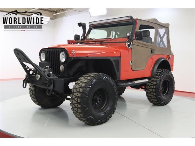 1977 Jeep CJ (CC-1465030) for sale in Denver , Colorado
