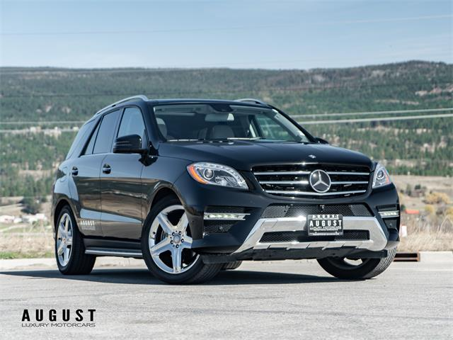2015 Mercedes-Benz M-Class (CC-1465053) for sale in Kelowna, British Columbia