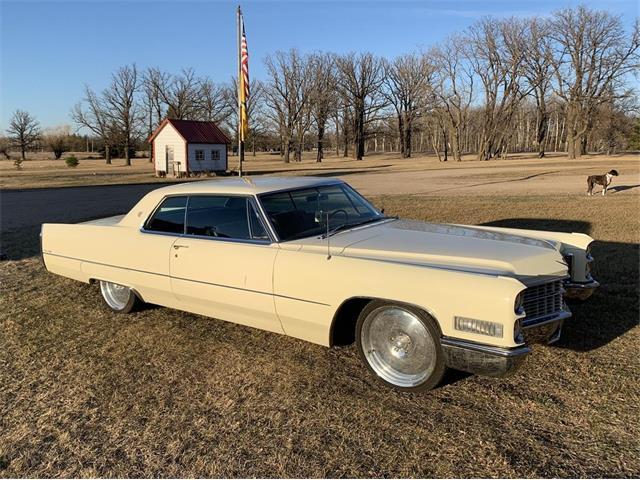 1966 Cadillac Coupe DeVille (CC-1465161) for sale in Greenbush , Minnesota