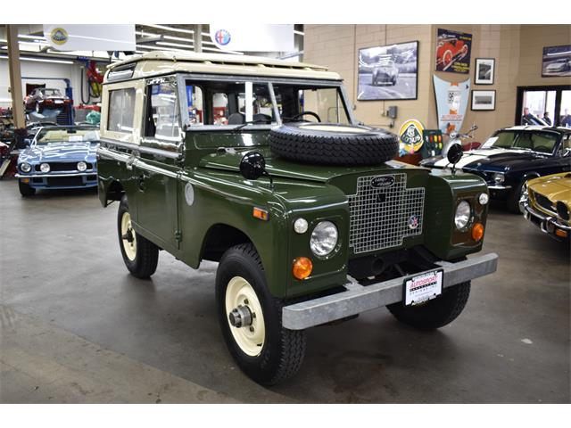1971 Land Rover Series II 88 (CC-1460526) for sale in Huntington Station, New York