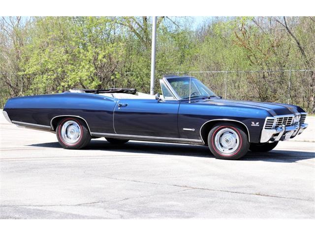 1967 Chevrolet Impala (CC-1465313) for sale in Alsip, Illinois