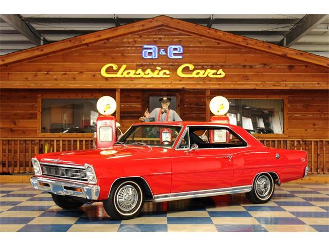 1966 Chevrolet Nova (CC-1460536) for sale in New Braunfels , Texas