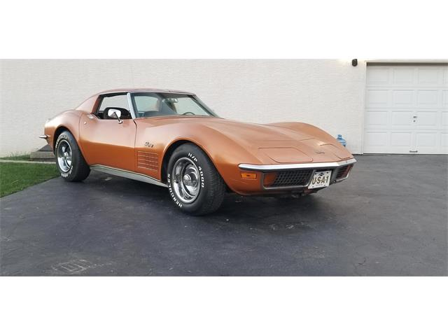 1972 Chevrolet Corvette (CC-1465411) for sale in Carlisle, Pennsylvania