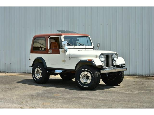 1981 Jeep CJ7 (CC-1460556) for sale in Youngville, North Carolina