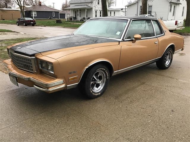 1980 Chevrolet Monte Carlo (CC-1465614) for sale in www.bigiron.com,