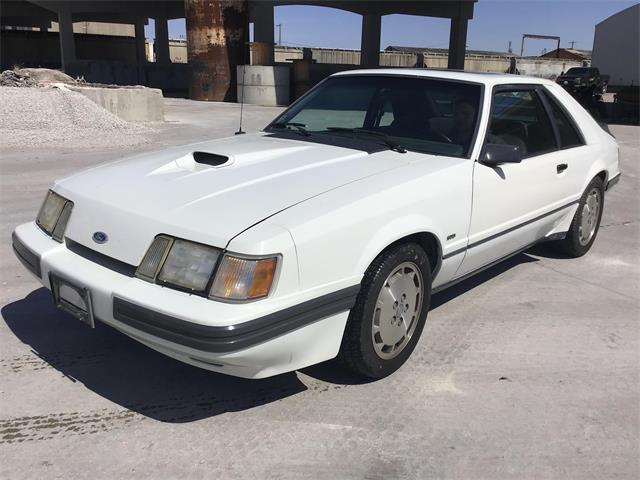 1986 Ford Mustang SVO (CC-1465629) for sale in www.bigiron.com,