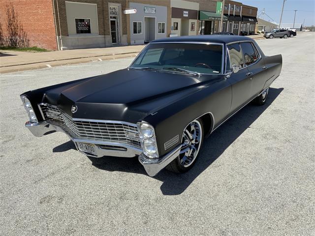 1967 Cadillac Fleetwood (CC-1465646) for sale in www.bigiron.com,