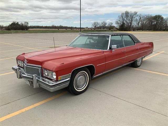 1973 Cadillac DeVille (CC-1465652) for sale in www.bigiron.com,
