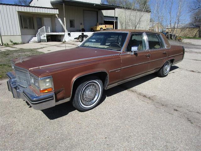 1983 Cadillac Fleetwood Brougham (CC-1465672) for sale in www.bigiron.com,