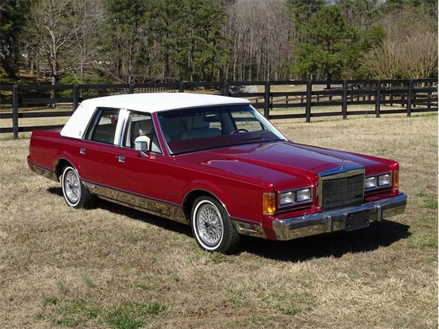 1989 Lincoln Town Car (CC-1460579) for sale in Youngville, North Carolina