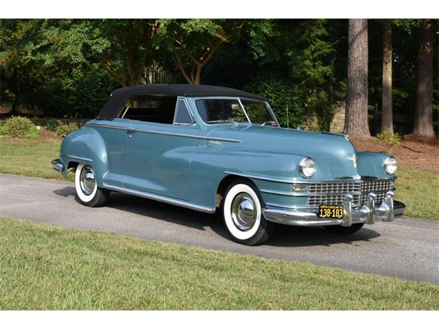 1948 Chrysler Windsor (CC-1460582) for sale in Youngville, North Carolina