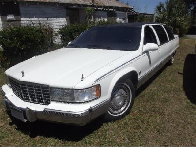 1996 Cadillac Fleetwood (CC-1465864) for sale in Cadillac, Michigan