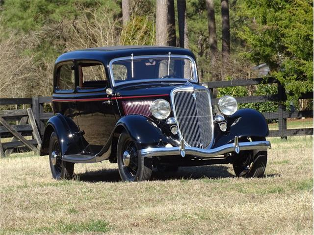 1934 Ford 2-Dr Sedan (CC-1460589) for sale in Youngville, North Carolina