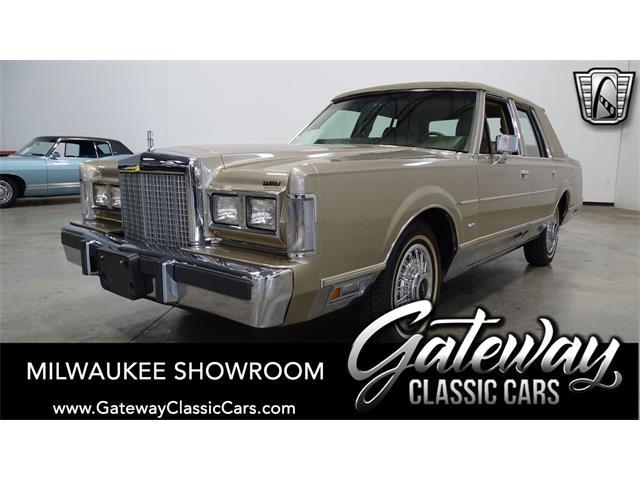 1987 Lincoln Town Car (CC-1465906) for sale in O'Fallon, Illinois