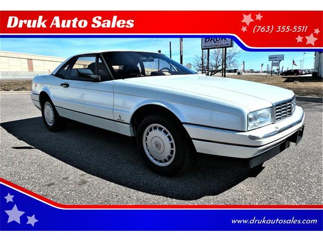 1988 Cadillac Allante (CC-1465914) for sale in Ramsey, Minnesota