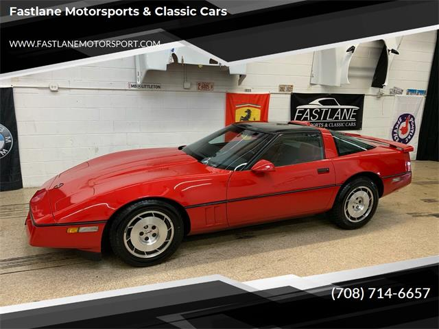 1986 Chevrolet Corvette (CC-1466040) for sale in Addison, Illinois