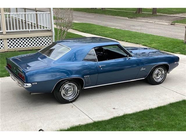 1969 Chevrolet Camaro (CC-1466114) for sale in Romeo, Michigan