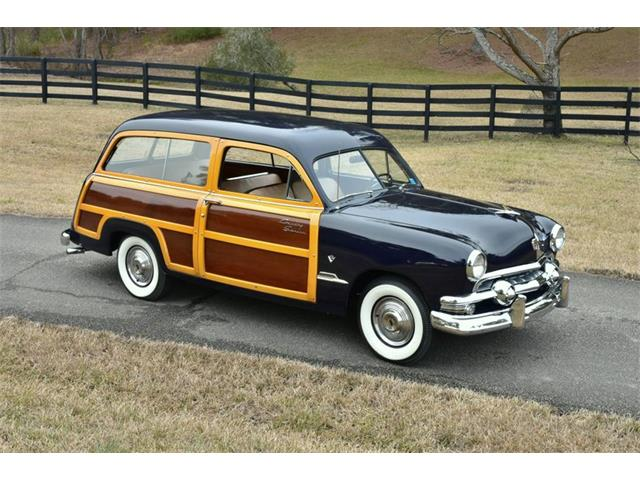 1951 Ford Country Squire (CC-1460625) for sale in Youngville, North Carolina