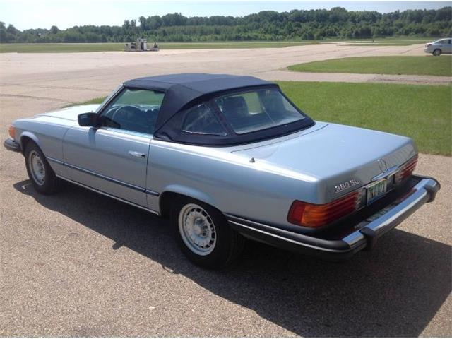1983 Mercedes-Benz 380SL (CC-1466289) for sale in Cadillac, Michigan