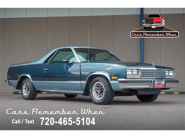 1985 Chevrolet El Camino (CC-1466351) for sale in Englewood, Colorado
