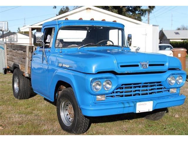 1960 Ford F250 (CC-1466363) for sale in Tacoma, Washington