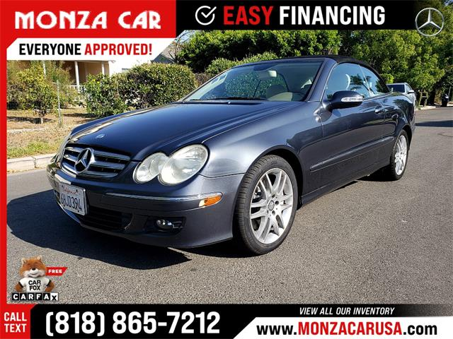 2009 Mercedes-Benz CLK-Class (CC-1466535) for sale in Sherman Oaks, California