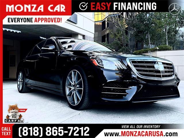 2020 Mercedes-Benz S-Class (CC-1466539) for sale in Sherman Oaks, California