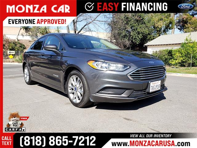 2017 Ford Fusion (CC-1466576) for sale in Sherman Oaks, California