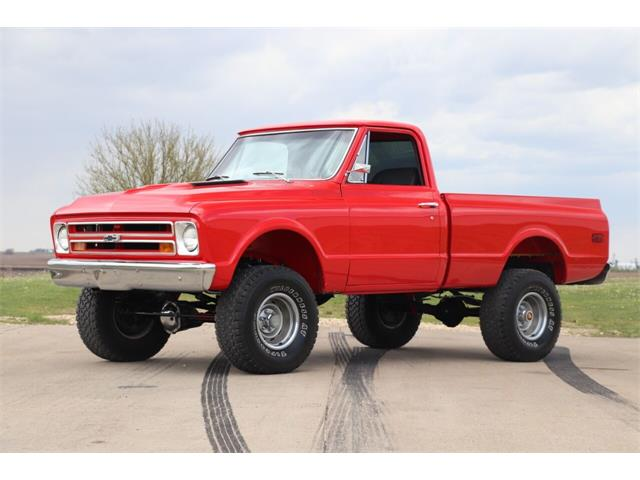 1967 Chevrolet K-10 (CC-1466735) for sale in Clarence, Iowa