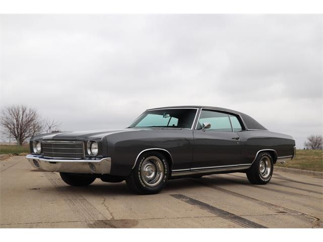 1970 Chevrolet Monte Carlo (CC-1466743) for sale in Clarence, Iowa
