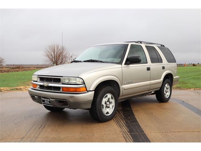 2004 Chevrolet Blazer (CC-1466793) for sale in Clarence, Iowa