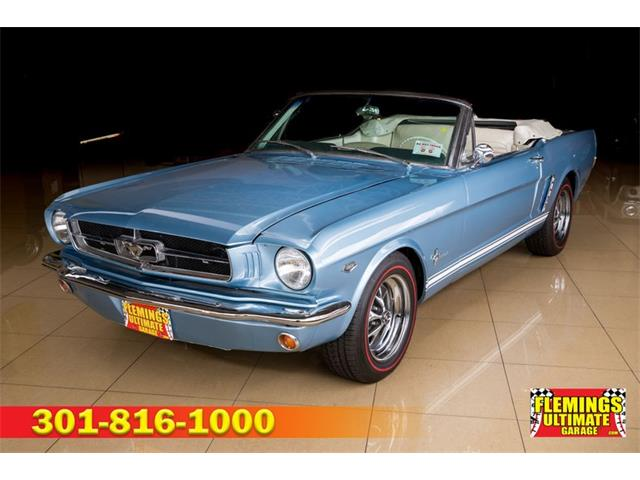 1965 Ford Mustang (CC-1466876) for sale in Rockville, Maryland