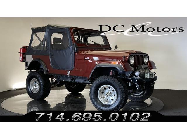1986 Jeep CJ5 (CC-1466892) for sale in Anaheim, California