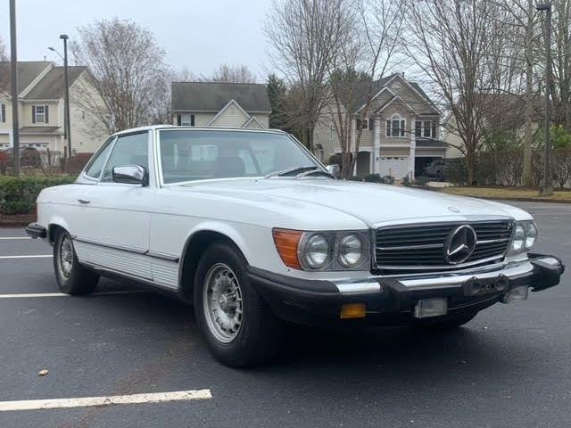 1984 Mercedes-Benz 380SL (CC-1460700) for sale in Youngville, North Carolina