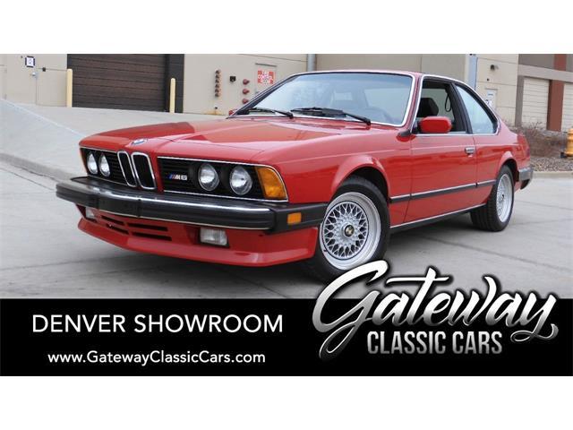 1987 BMW M6 (CC-1467055) for sale in O'Fallon, Illinois