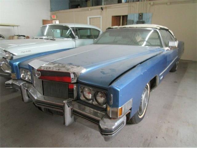 1973 Cadillac Eldorado (CC-1467094) for sale in Cadillac, Michigan