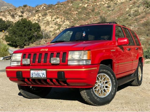 1993 Jeep Grand Cherokee (CC-1467141) for sale in Cadillac, Michigan