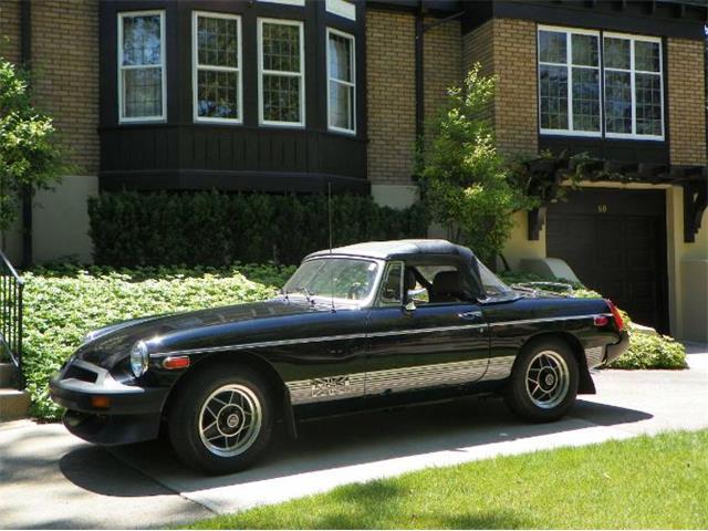 1980 MG MGB (CC-1467153) for sale in Cadillac, Michigan