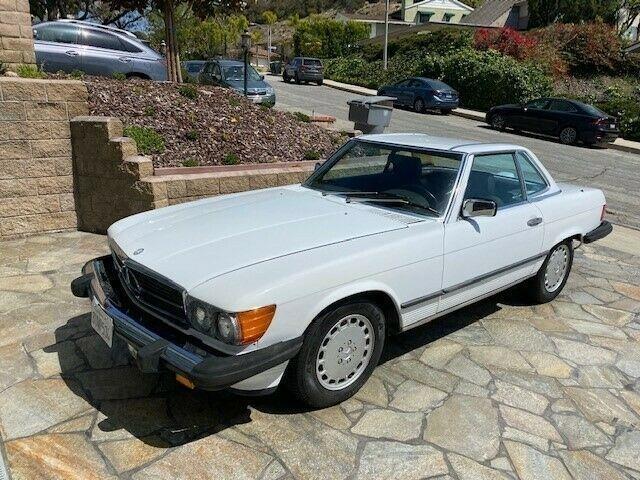 1987 Mercedes-Benz 560SL (CC-1467158) for sale in Cadillac, Michigan
