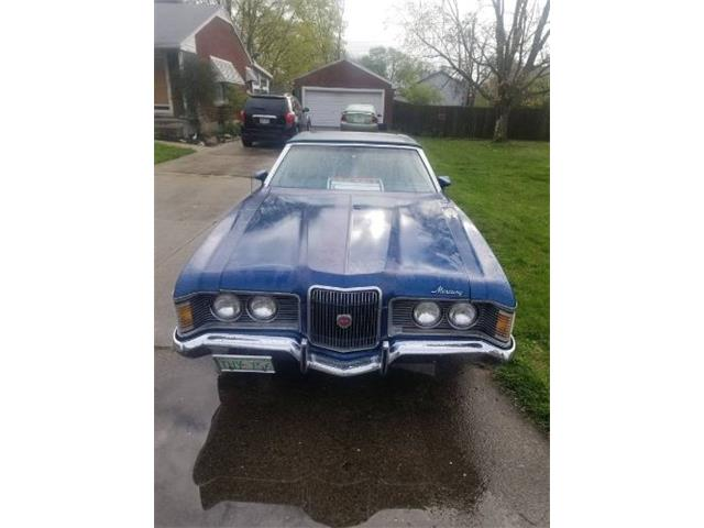 1972 Mercury Cougar (CC-1467177) for sale in Cadillac, Michigan