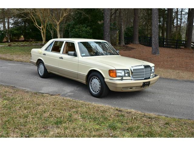 1989 Mercedes-Benz 420SEL (CC-1460731) for sale in Youngville, North Carolina