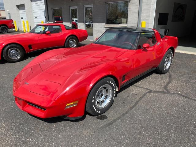 1981 Chevrolet Corvette (CC-1467363) for sale in Shelby Township, Michigan