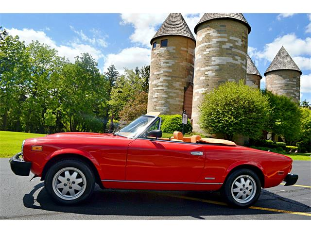1985 Fiat 124 Spider 2000 (CC-1467436) for sale in Palatine, Illinois