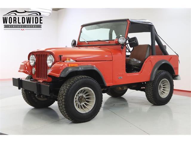 1975 Jeep CJ (CC-1467470) for sale in Denver , Colorado