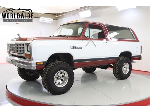 1985 Dodge Ramcharger (CC-1467504) for sale in Denver , Colorado