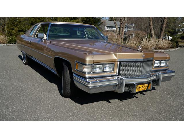 1975 Cadillac Coupe DeVille (CC-1460753) for sale in Old Bethpage , New York
