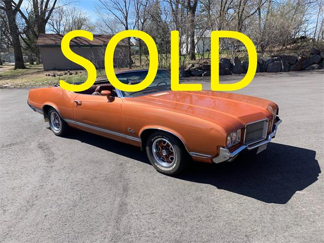 1971 Oldsmobile Cutlass Supreme (CC-1467555) for sale in Annandale, Minnesota