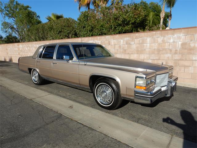 1985 Cadillac Fleetwood Brougham (CC-1460759) for sale in Woodland Hills, California