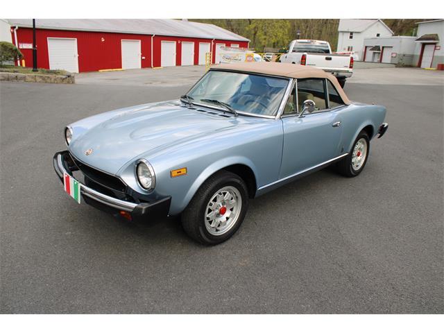 1981 Fiat Spider (CC-1467593) for sale in Carlisle, Pennsylvania